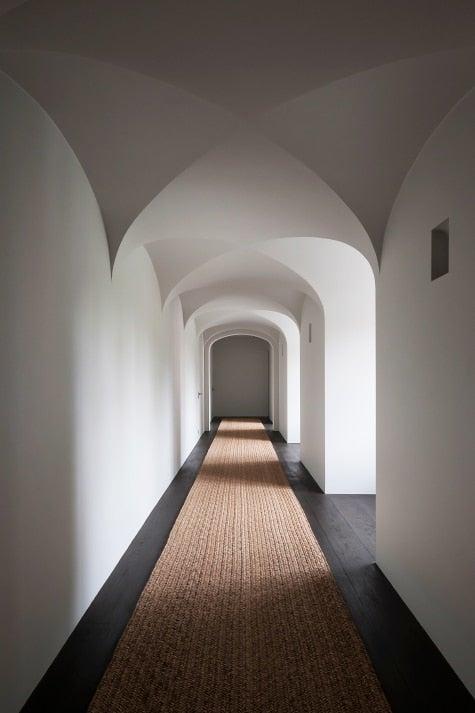 Belgian designer Vincent Van Duysen house hallway