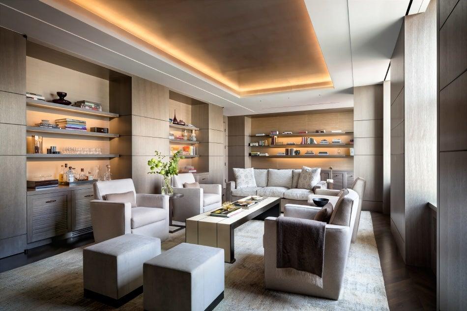 Architect Jean-Gabriel Neukomm JG Neukomm Architecture New York City Apthorp Living Room
