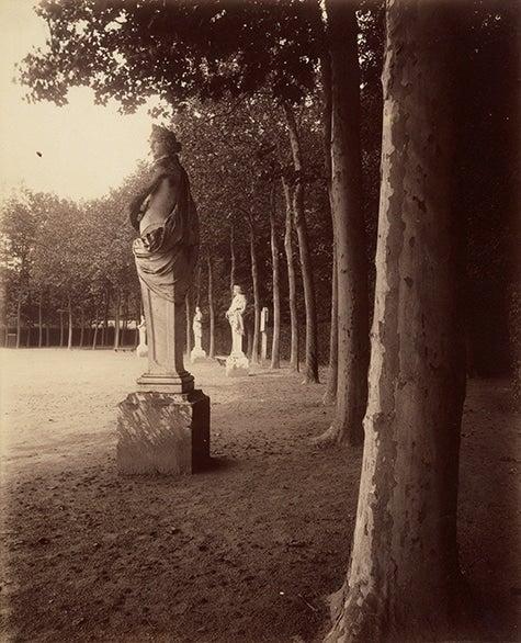 Eugène Atget Versailles — Cour du Parc Public Parks, Private Gardens: Paris to Provence French France Metropolitan Museum of Art New York