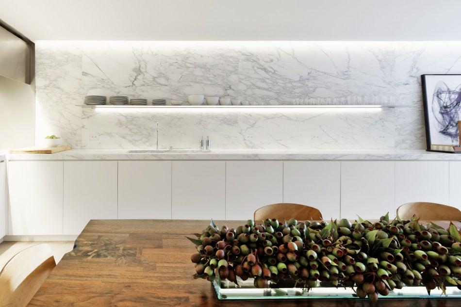 Architect Jean-Gabriel Neukomm JG Neukomm Architecture New York City West Village kitchen