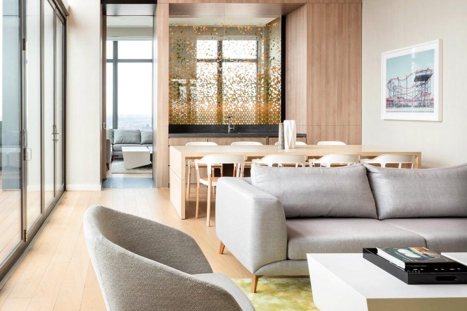 New York City Architect Jean-Gabriel Neukomm JG Neukomm Architecture Brooklyn Ashland sunset room