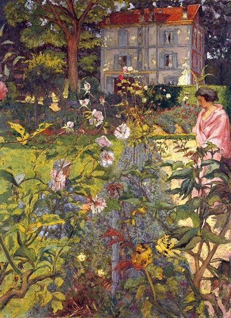 Édouard Vuillard Garden at Vaucresson Public Parks, Private Gardens: Paris to Provence French France Metropolitan Museum of Art New York