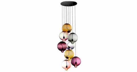 Johan Lindstén Meltdown hanging light fixture, 2013, offered by the Art Design Project Furniture