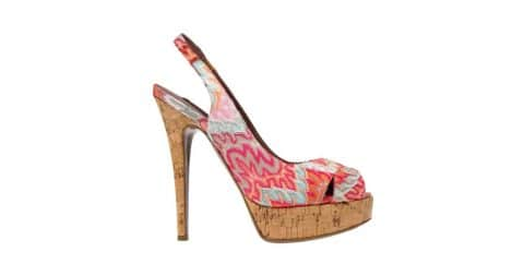Missoni heels, 21st century, offered by Couture Fairy Boutique