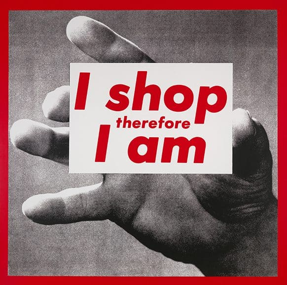 Brand New: Art and Commodity in the 1980s Hirshhorn Museum Washington DC Barbara Kruger
