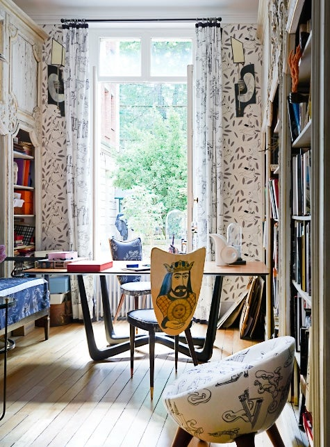 Vincent Darré's Daring and Fashionable French Interiors