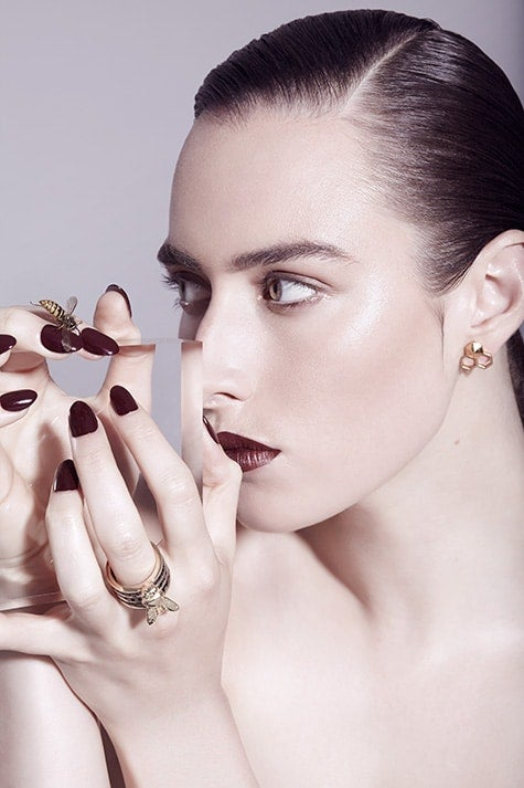 ring and earrings from Tessa Packard's Predator Prey collection