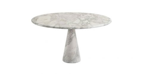 Angelo Mangiarotti M1 marble center table, 1960–69, offered by Morentz