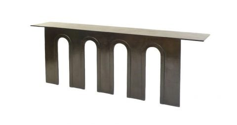 Eric Schmitt Arch console, new, offered by Valerie Goodman Gallery