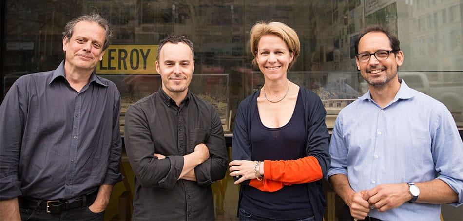 Morgan Hare, Shawn Watts, Sybille Schneider, Marc Turkel of Leroy Street Studio