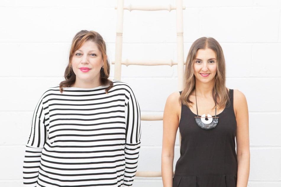 Sight Unseen founders Jill Singer and Monica Khemsurov