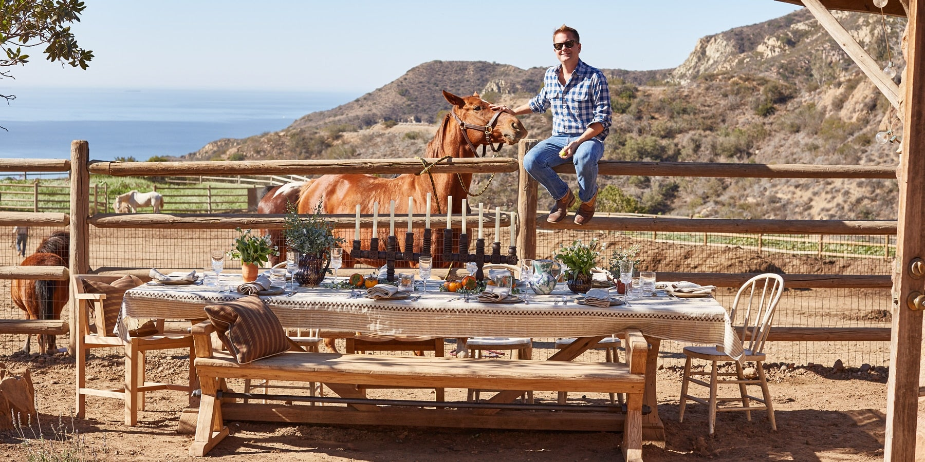 California Boy Nathan Turner Entertains — and Shops 1stdibs — with ...