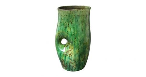 Accolay ceramic vase, 1960s, offered by Bureau of Interior Affairs