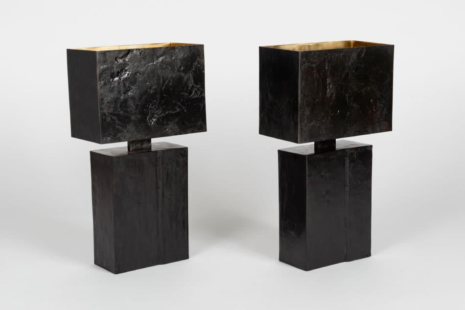 Vahan table lamps by Aline Hazarian