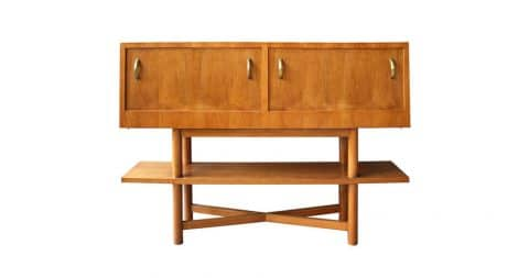 Suzanne Guiguichon cherry bar, ca. 1950, offered by Conjeaud and Chappey LLC