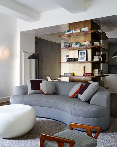 A living area in a West-Village apartment by Aamir Khandwala