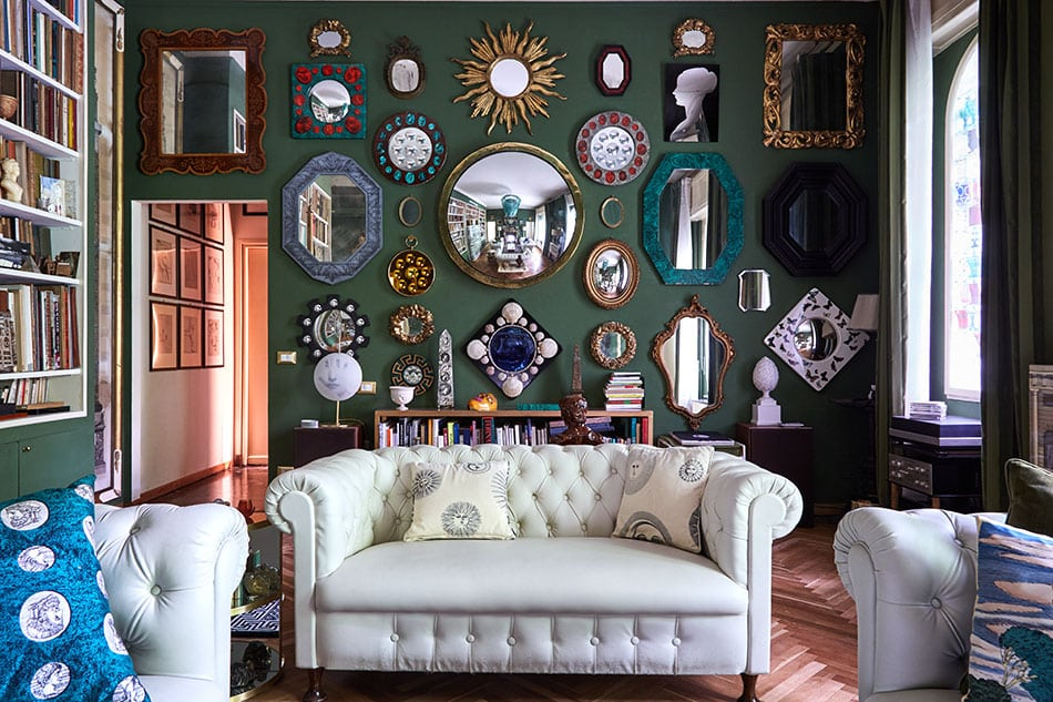 Barnaba Fornasetti's Hallucinatory House Has His Father's Spirit