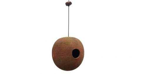 Stan Bitters birdhouse, 1970, offered by Inner Gardens