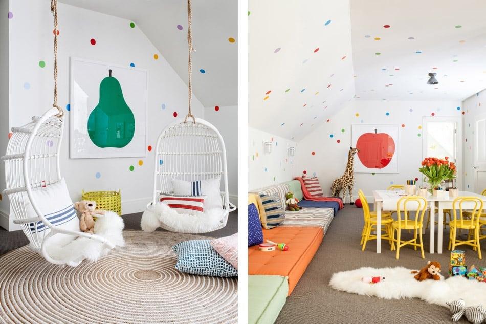 Westport playroom by Chango & Co.
