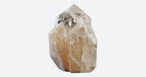 A-grade freestanding quartz crystal cluster