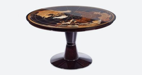 World Map table, 2017