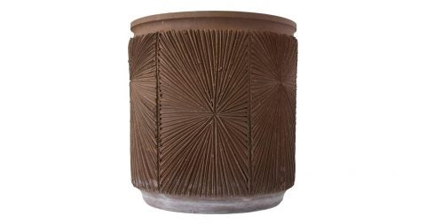 Robert Maxwell and David Cressey Earthgender cylindrical planter, 1970s, offered by Den