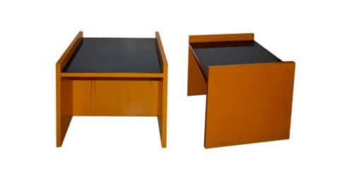 Richard Neutra side tables, 1950s, offered by Galerie XX