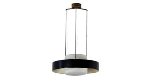 Bruno Gatta for Stilnovo Model 1158 Chandelier, 1960s, offered by Rewire