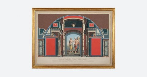 Villa Negroni frescoes, 1778–83, by Angelo Campanella