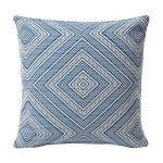 Schumacher Tortola-print indoor/outdoor pillow, new