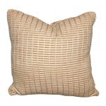 Outdoor silk chenille pillow, 2014