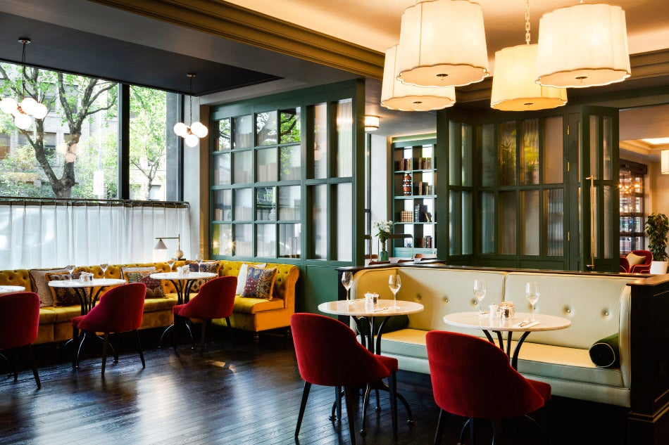 A bar and restaurant designed by Bryan O'Sullivan