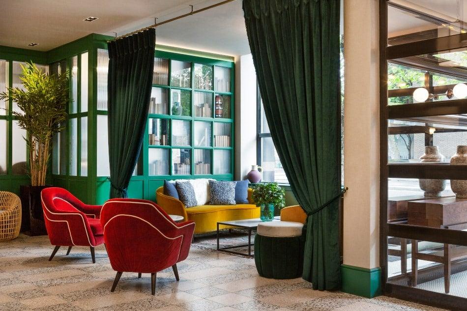 Reception area by Bryan O'Sullivan