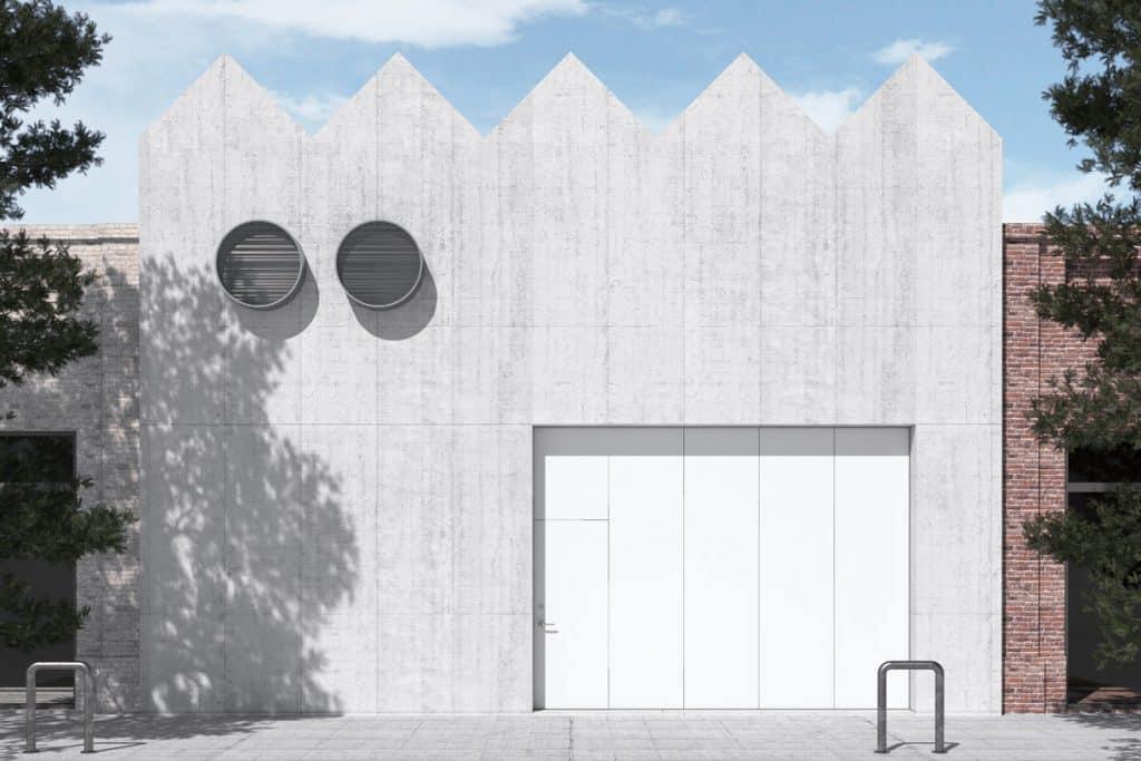 Exterior design by Charlap Hyman & Herrero