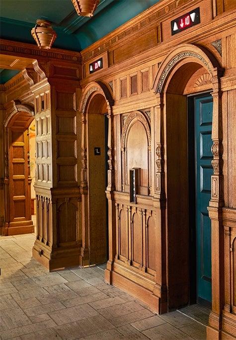 Freehand New York elevators