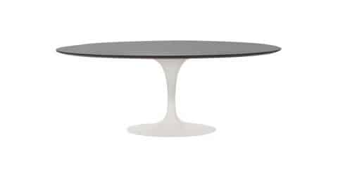 Eero Saarinen for Knoll oval Tulip dining table, 1960s, offered by Continuum 20th Century Design