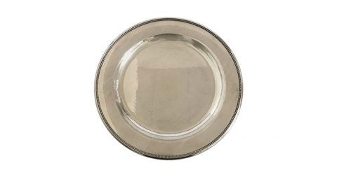 Georg Jensen sterling silver tray No. 210 N, mid-20th century, offered by Danam Antique