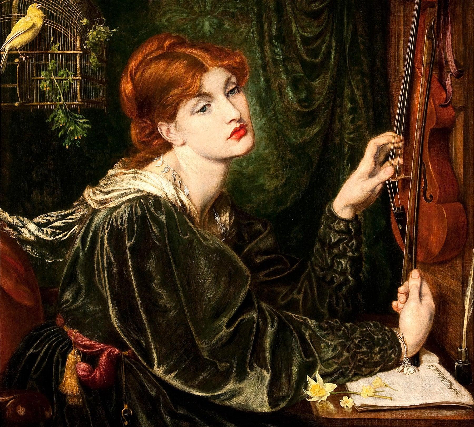 Veronica Veronese, 1872, by Dante Gabriel Rossetti