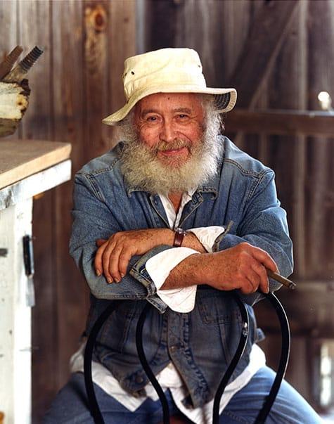 Portrait of Robert Indiana