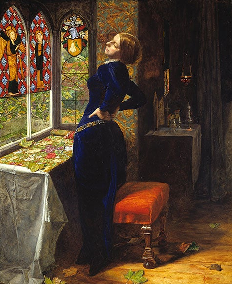 Mariana, 1851, by John Everett Millais