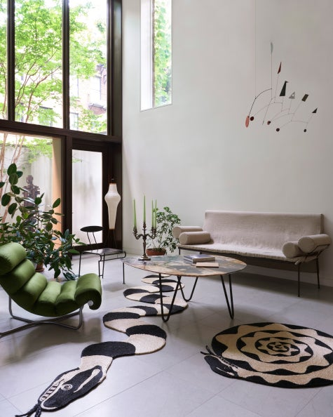 Living room design by Hyman and Herrero