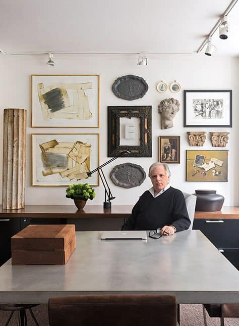 Interior designer Mark Epstein