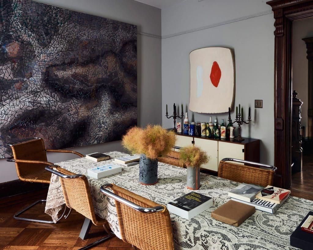 Dining room by Charlap Hyman & Herrero