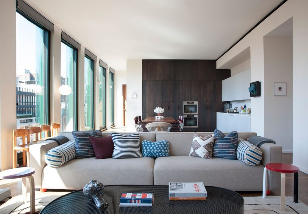 New York living room by Pepe Lopez