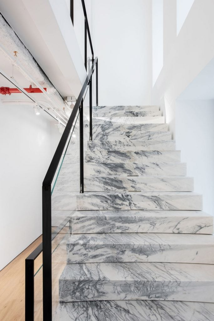 R & Company marble staircase
