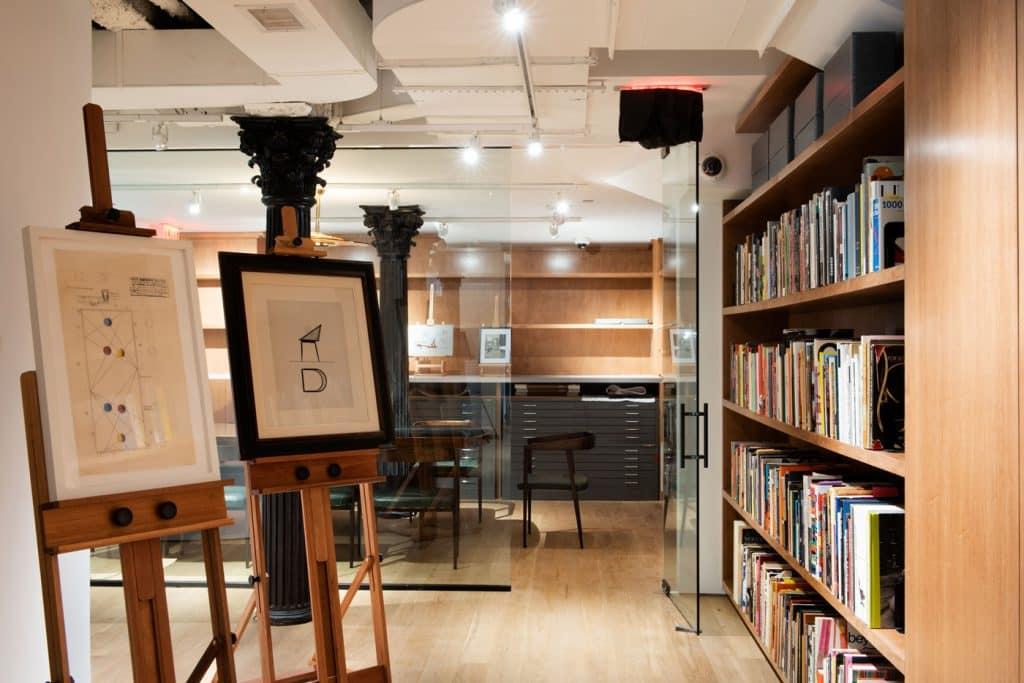 R & Company bookcases