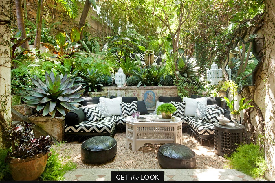 L.A. patio by Martyn Lawrence Bullard