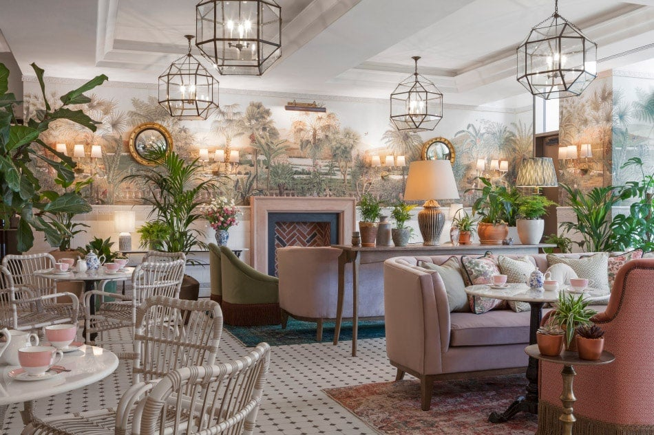 A social space at the Tamburlaine designed by Bryan O'Sullivan