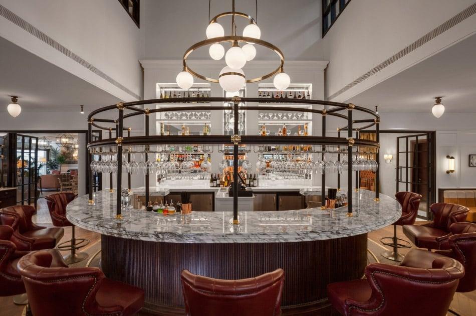 A horseshoe-shaped bar by Bryan O'Sullivan
