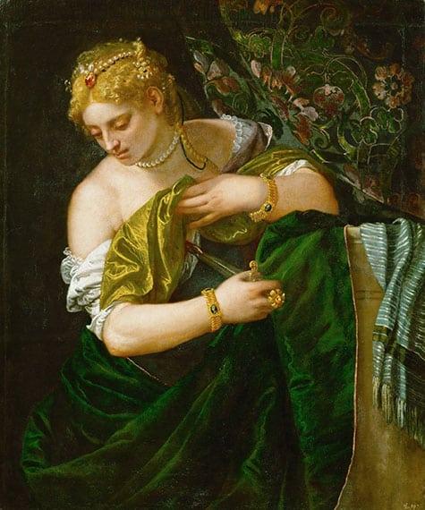 Lucretia, 1580-1583, by Paolo Veronese